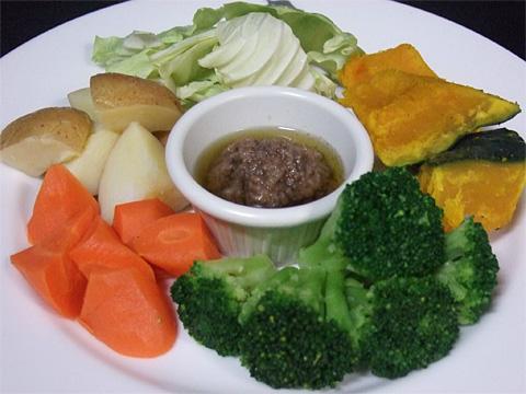 温野菜バーニャカウダーfor 2 person