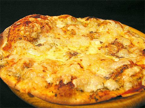 4種類のチーズピッツア